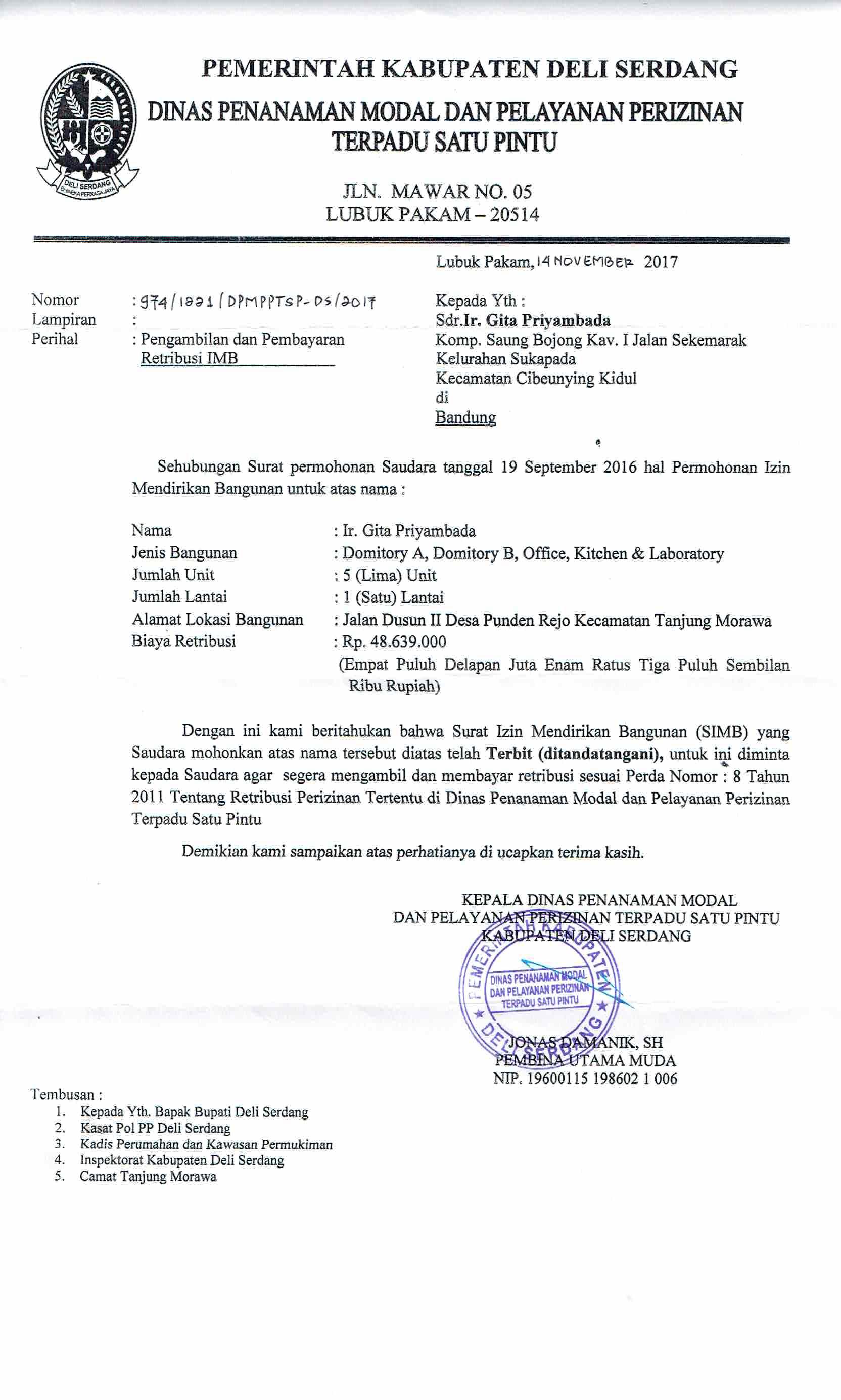 J And J Deli >> Seri Deli Sistem Elektronik Perizinan Deli Serdang 08