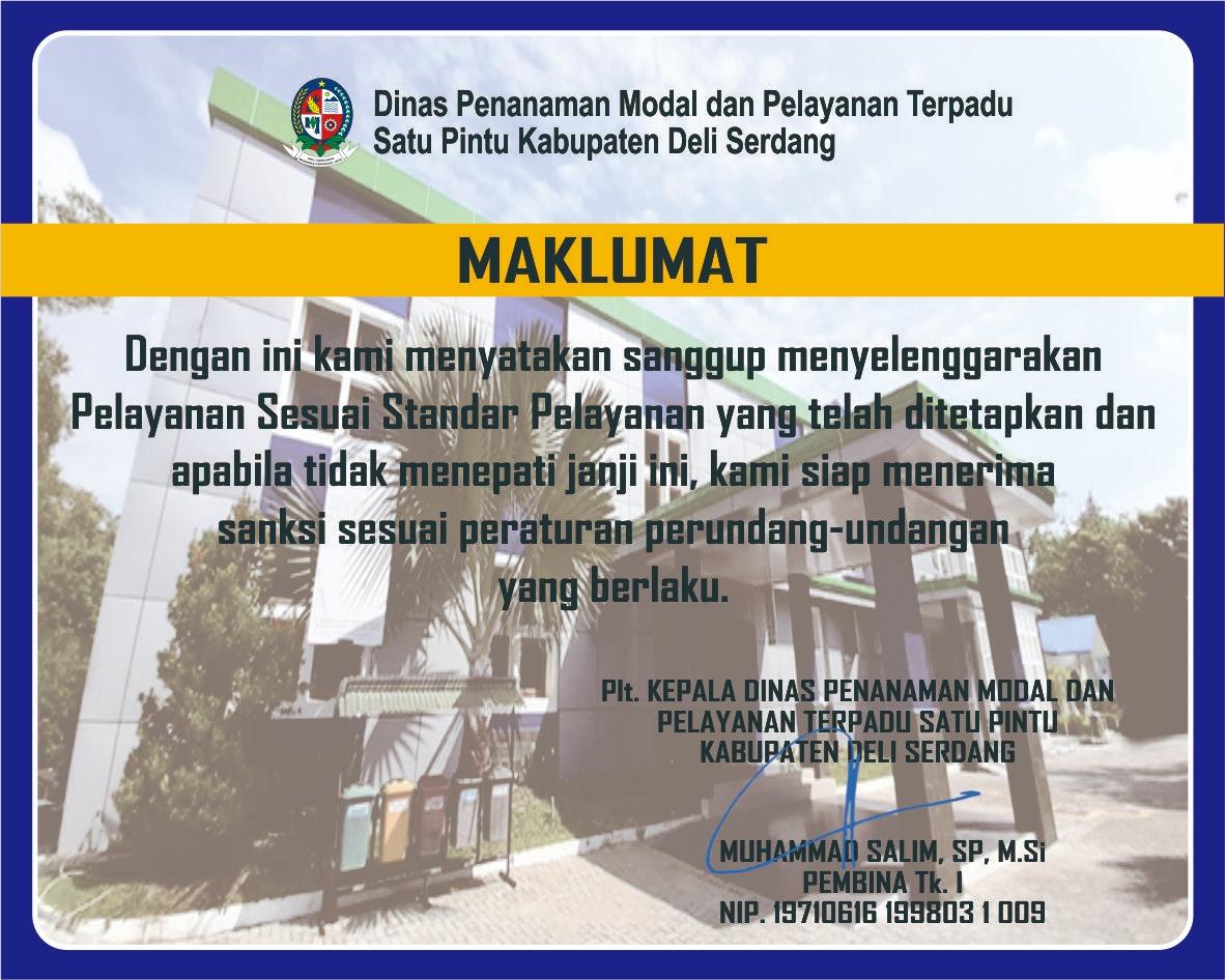 maklumat pelayanan